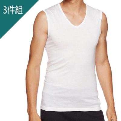 BVD- 速乾U領無袖衫(3件組)