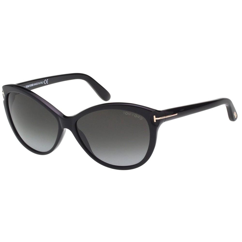 TOM FORD 時尚 太陽眼鏡(黑色)TF325