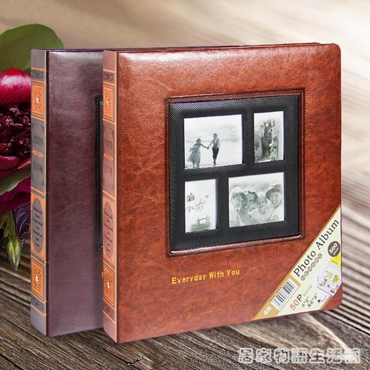 創意禮物8寸相冊 影集家庭大本插頁式情侶紀念冊八寸相本留言記事
