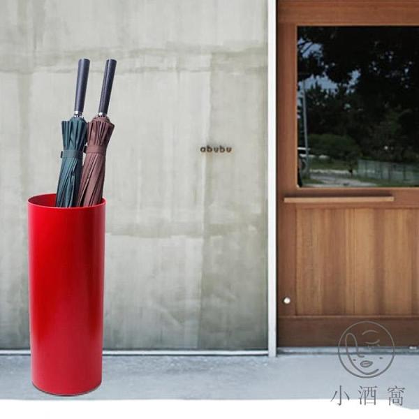 家居雨傘架防潮收納桶酒店大堂圓柱形歐式雨傘桶【小酒窩服飾】