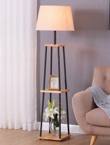 免運 落地燈北歐客廳美式臥室書房現代遙控立式床頭中式地燈檯燈簡約