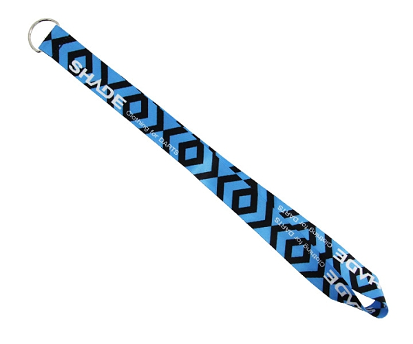 【SHADE】Neck strap DartsCase StrapParts Blue 鏢盒/鏢袋 DARTS