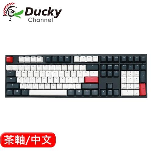 Ducky ONE 2 Tuxedo 燕尾服 機械鍵盤 茶軸 中文