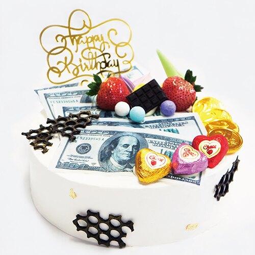 抽錢蛋糕 8吋 【PATIO帕堤歐】造型蛋糕/生日蛋糕/卡通蛋糕