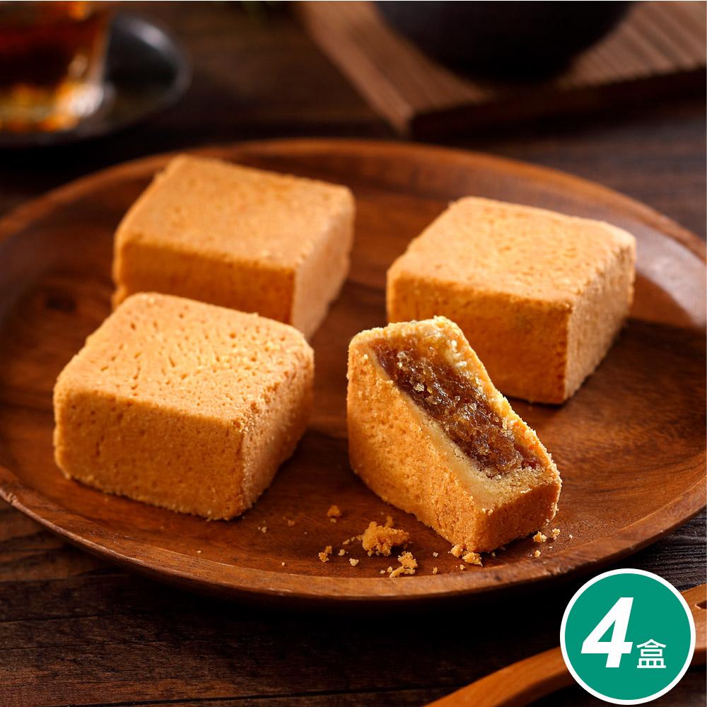【太陽堂烘焙坊】香酥鳳梨酥4盒團購組(12入/盒 附提袋)