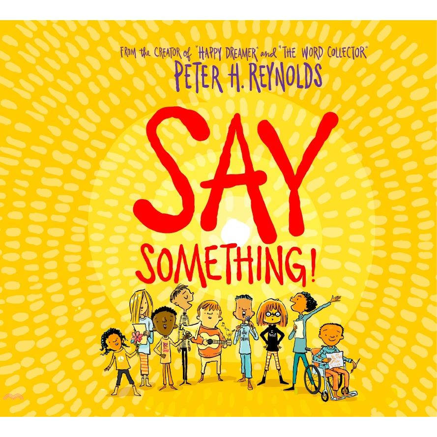Say Something (with audio on CD and StoryPlus)(附音檔)【三民網路書店】