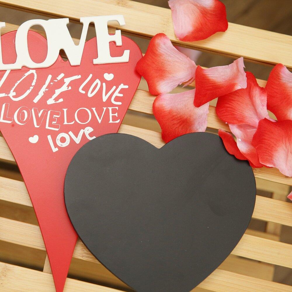 Heart RED黑板留言吊飾-生活工場