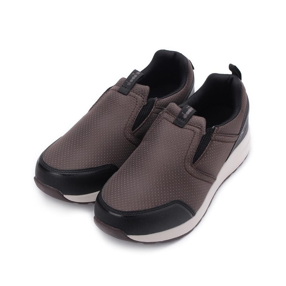 DIADORA 防潑水懶人健走鞋 咖啡 DA73118 男鞋