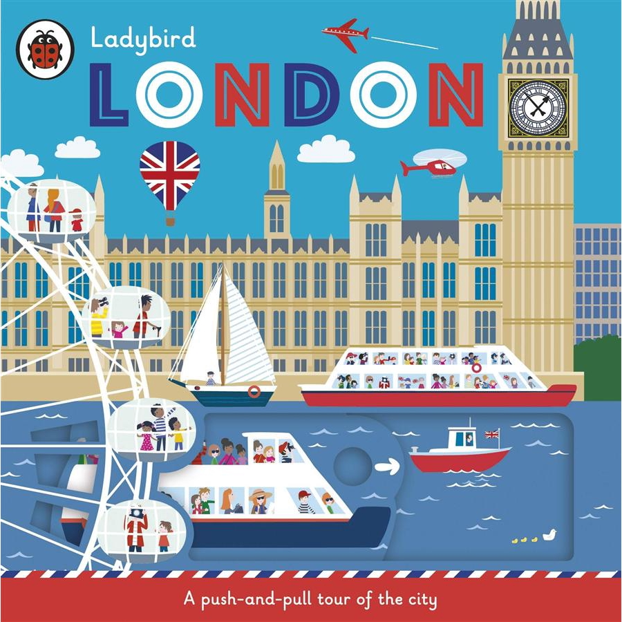 Ladybird London: A Push-and-Pull Tour/Klara eslite誠品