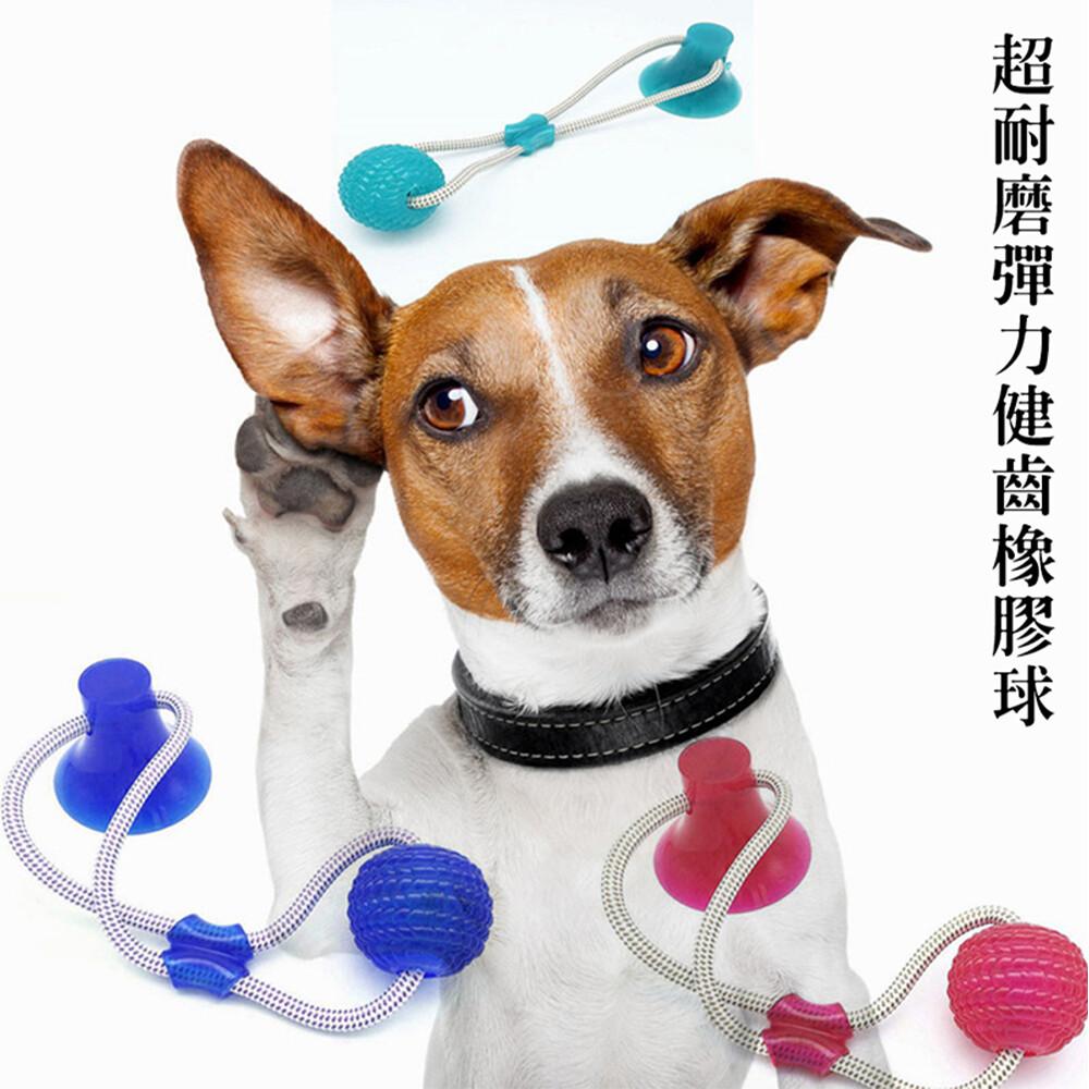 寵物超耐磨彈力健齒橡膠球