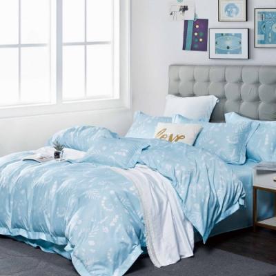 夢之語 頂級天絲床包枕套三件組(格拉茲)雙人