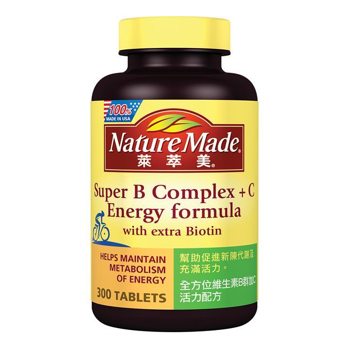 Nature Made 萊萃美 全方位維生素B群加C 活力配方 300 粒