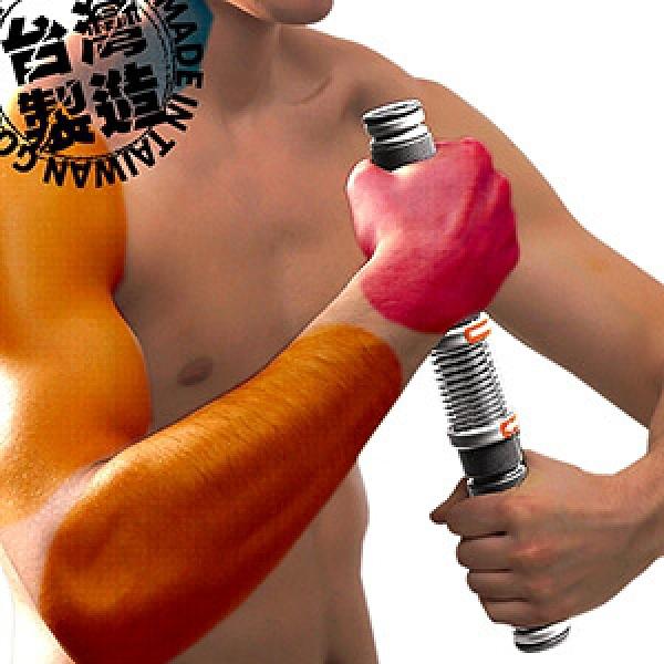 台灣製造 擰毛巾神器臂力棒.旋轉彈簧健臂器.臂力器握力器.握力棒彈力棒.手腕力訓練器.運動健身