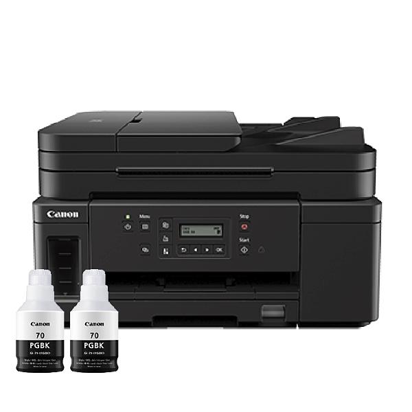 【搭GI70原廠墨水二黑】Canon PIXMA GM4070 商用黑白連供複合機 保固兩年 登錄送禮卷