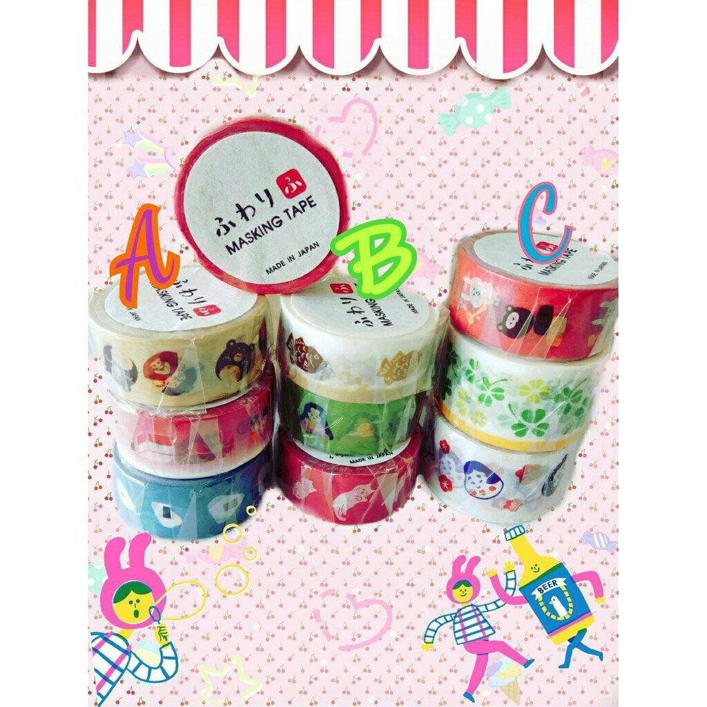 【江戶物語】日本 ふわり「ふ」紙膠帶 裝飾拍立得空白底片 邊框貼 卡片手帳裝飾  優惠中