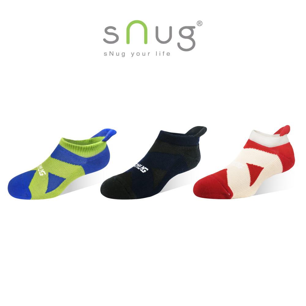 sNug 運動繃帶船襪 (除臭襪/短襪)