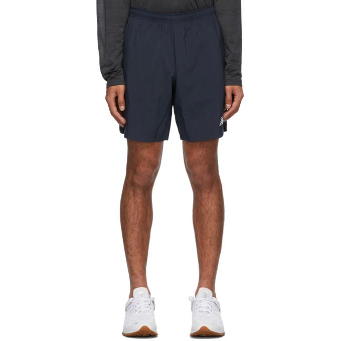 New Balance 海军蓝 Velocity 短裤