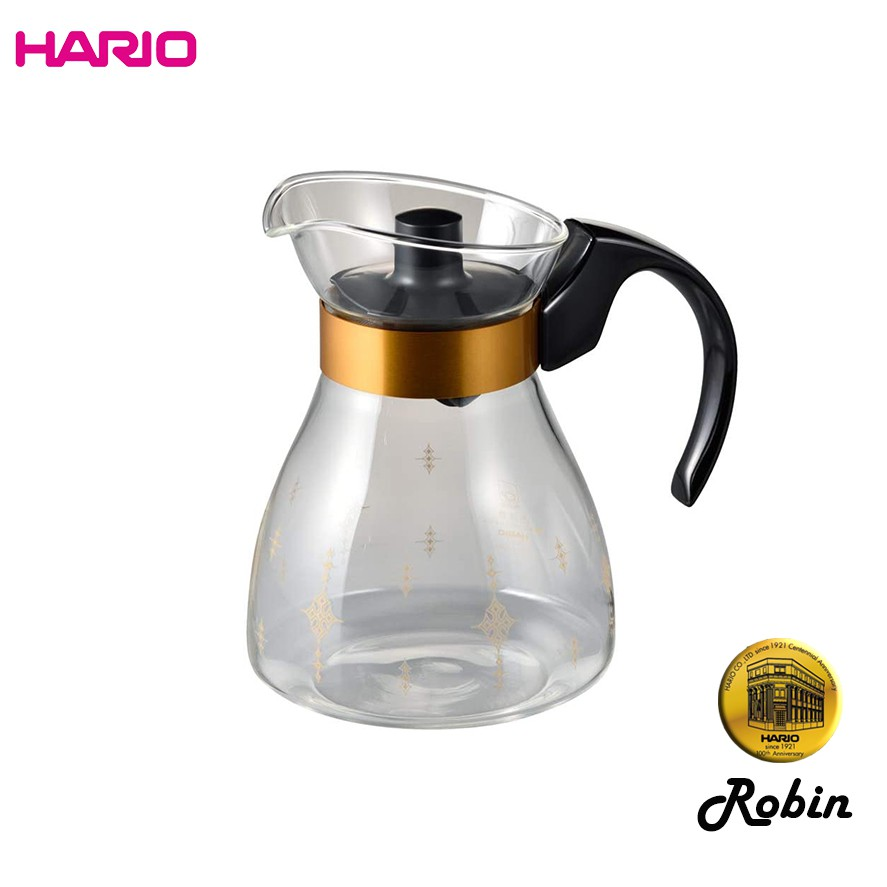 HARIO 100年復刻 Robin 羅賓茶壺 300mL 經典復刻 限量發售 NRF-3B