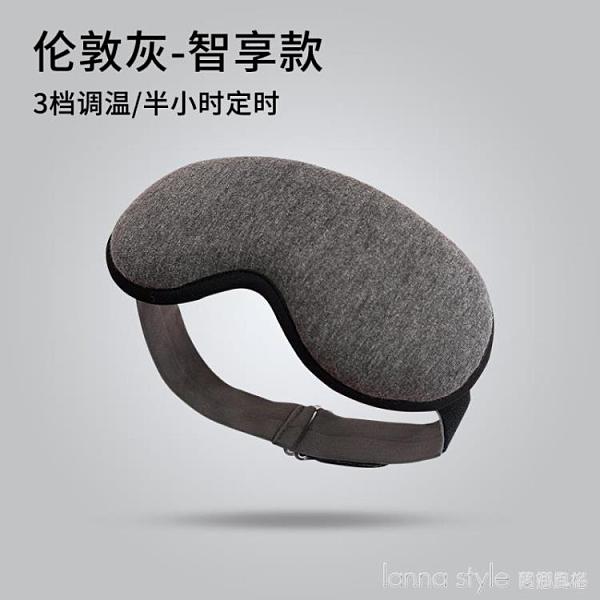 眼罩ub加熱緩解熱敷黑眼圈發熱蒸氣睡眠遮光 純色 新品全館85折