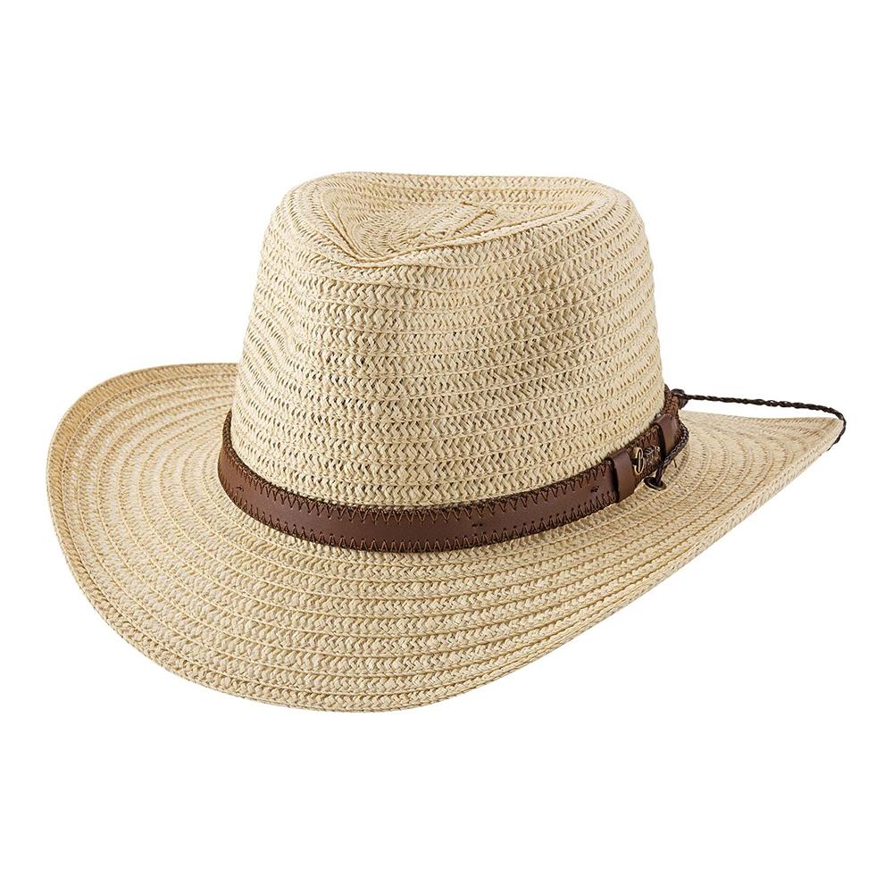 Bullhide Bonaventure- Straw Outdoorsman Hat
