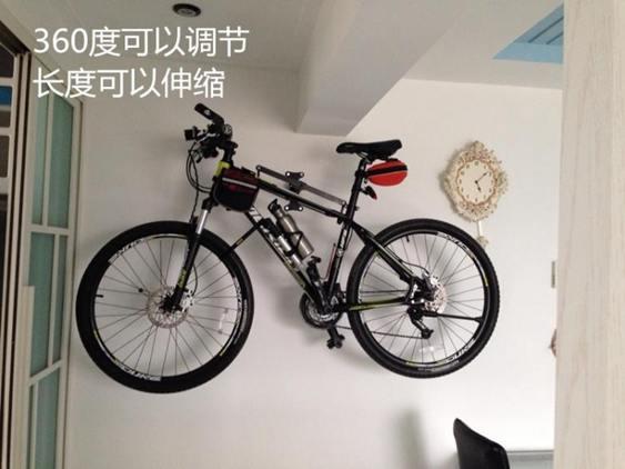 單車支架自行車掛架高強度墻壁掛鉤室內家用單車山地車公路車展示停車架