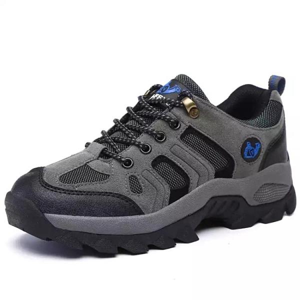 男鞋秋季登山鞋男旅游鞋防滑運動鞋男中年透氣戶外休閑爸爸鞋