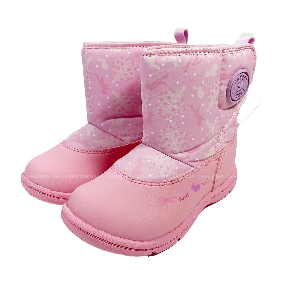 (B9) MOONSTAR 機能童鞋 雨鞋 CRC22794兔子粉