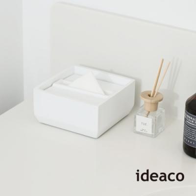 日本IDEACO 方形下降式沉蓋磨石餐巾紙盒