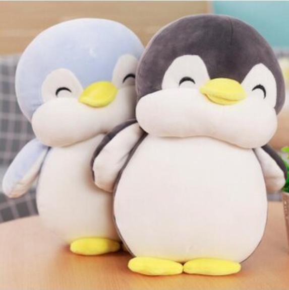 (30cm)當你沉睡時同款企鵝抱枕 李鍾碩 裴秀智 韓劇周邊 絨毛玩偶 午睡枕 葉子小舖