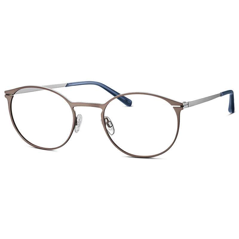 FREIGEIST 自由主義者 德國寬版大尺寸金屬圓框眼鏡 862020- dark brown 深棕 (60)