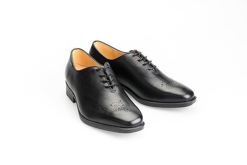 MIT 【經典牛津輕量紳仕皮鞋-黑】牛津鞋 正裝皮鞋 百搭基本款