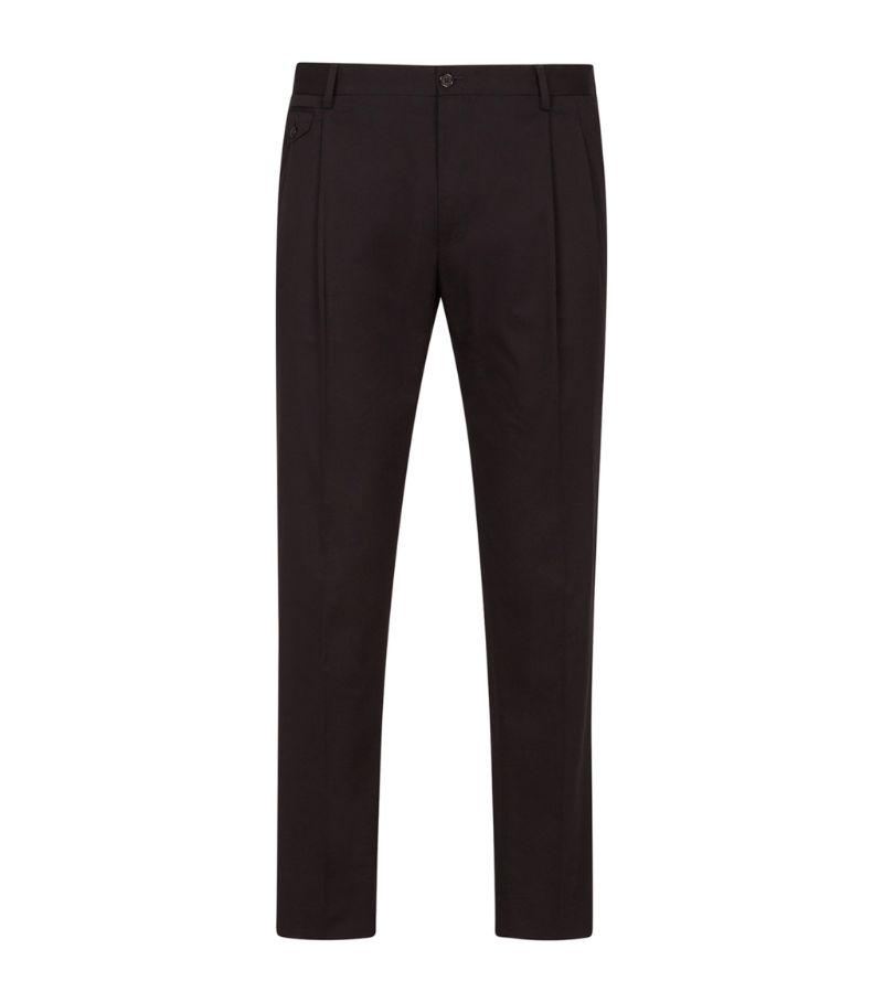 Dolce & Gabbana Stretch-Cotton Trousers