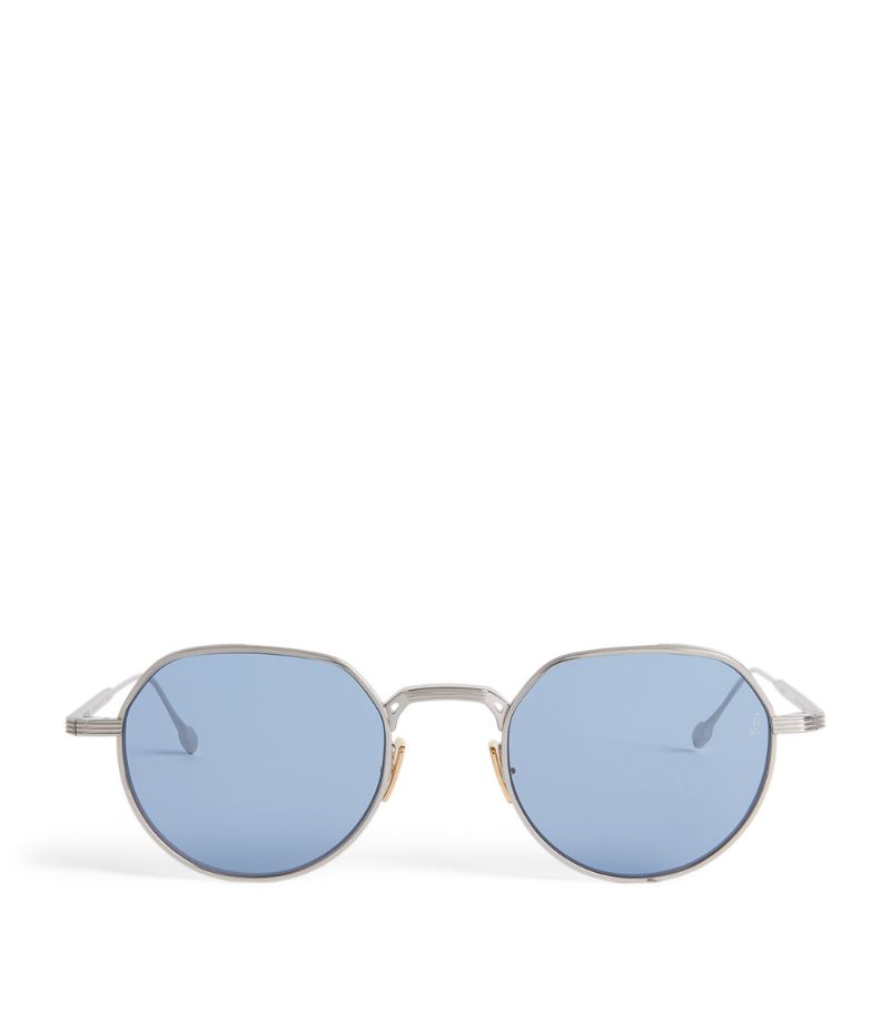 Jacques Marie Mage Fontana Round Sunglasses