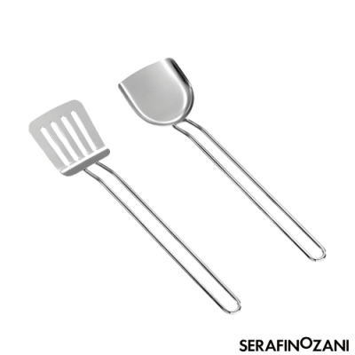 ZANI SPRING廚房鏟子系列/中式鍋鏟+西式孔鏟