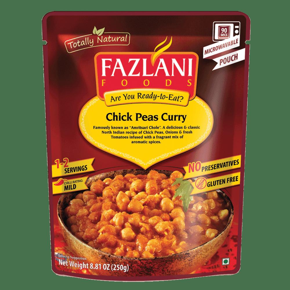 [Fazlani] 印度即食包(250g/包) 鷹嘴豆咖喱風味