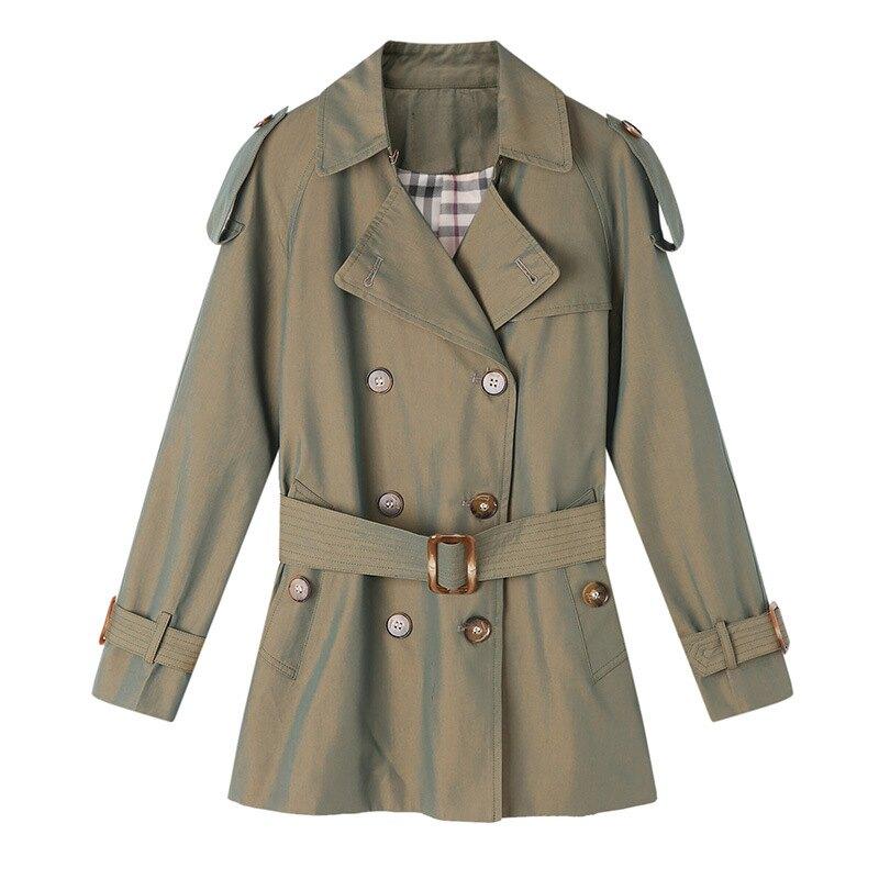 風衣大衣短版外套-經典英倫風修身休閒女外套3色73yt40【獨家進口】【米蘭精品】