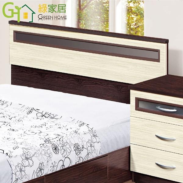 【綠家居】拜斯 環保5尺雙人南亞塑鋼床頭片(不含床底&床墊)