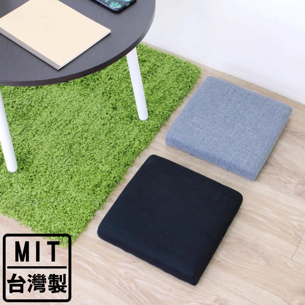 愛家寬31公分-厚型沙發(織布椅面)和室坐墊/沙發坐墊/椅墊(二色可選)-加贈防滑腳墊x4片