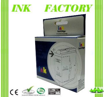 【INK FACTORY】CANON CLI-726M / CLI-726 紅色相容墨水匣(含晶片)