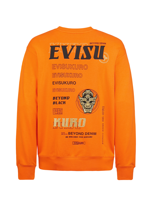 Multi-Logo and Graphics Print Sweatshirt