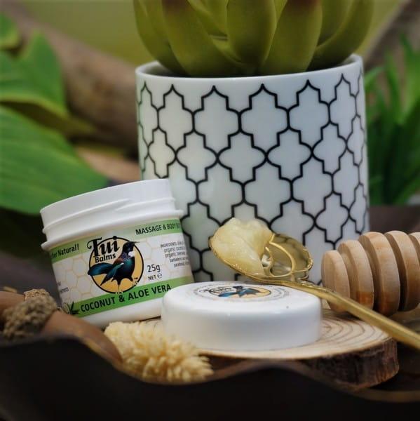 【微笑生活】Tui Balms身體按摩精油膏(蘆薈舒緩)100g 紐西蘭原裝進口 加強保濕