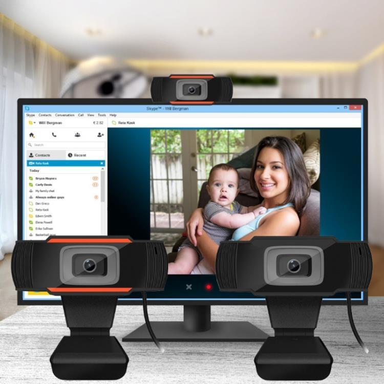 視訊攝影機USB電腦720p高清網路攝像機網課直播1080P攝像頭webcam