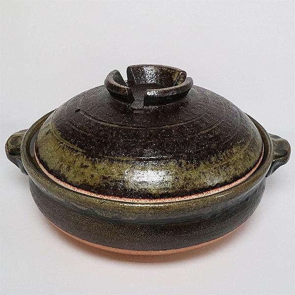 日本陶鍋【信樂燒】清流 10號 土鍋 砂鍋 日本製陶瓷