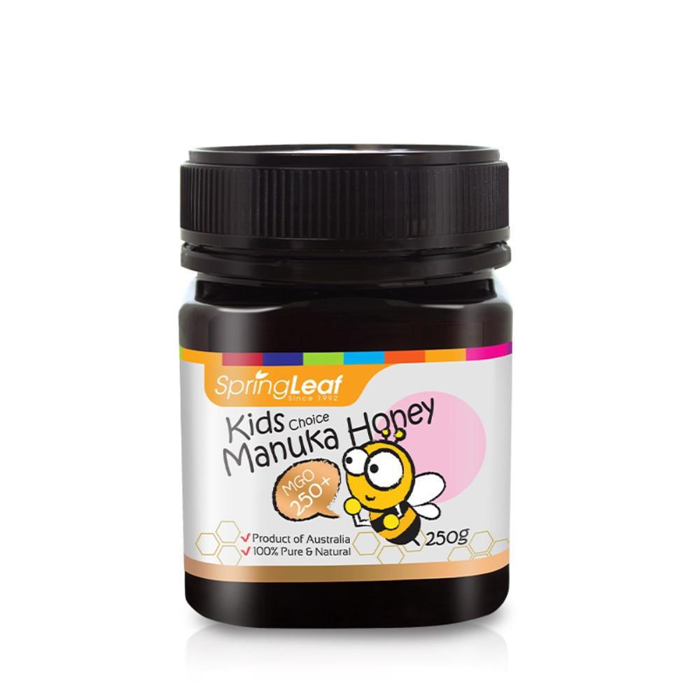 綠芙特級 兒童麥盧卡蜂蜜250+ (250g/罐)|中化裕民健康生活館
