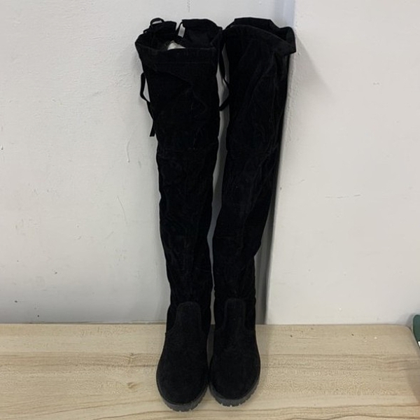 時尚中筒靴長靴軍靴馬丁靴(39號/777-5698)