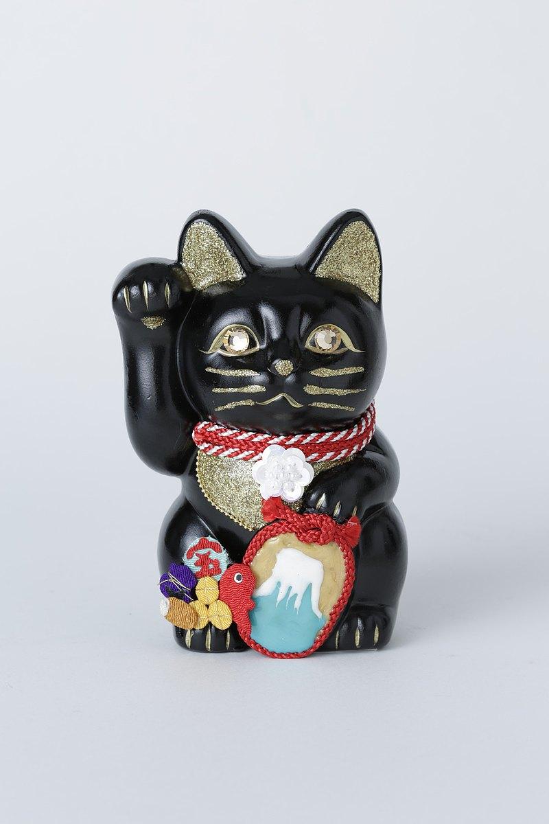 幸運貓富士山相關的貓寶船