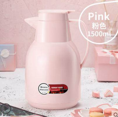 熱水壺德國EDISH保溫壺家用保溫水壺大容量熱水瓶暖瓶玻璃內膽保溫水瓶