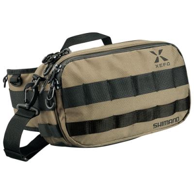 【SHIMANO】XEFO 堅挺腰包 S號 BW-211S 卡其色