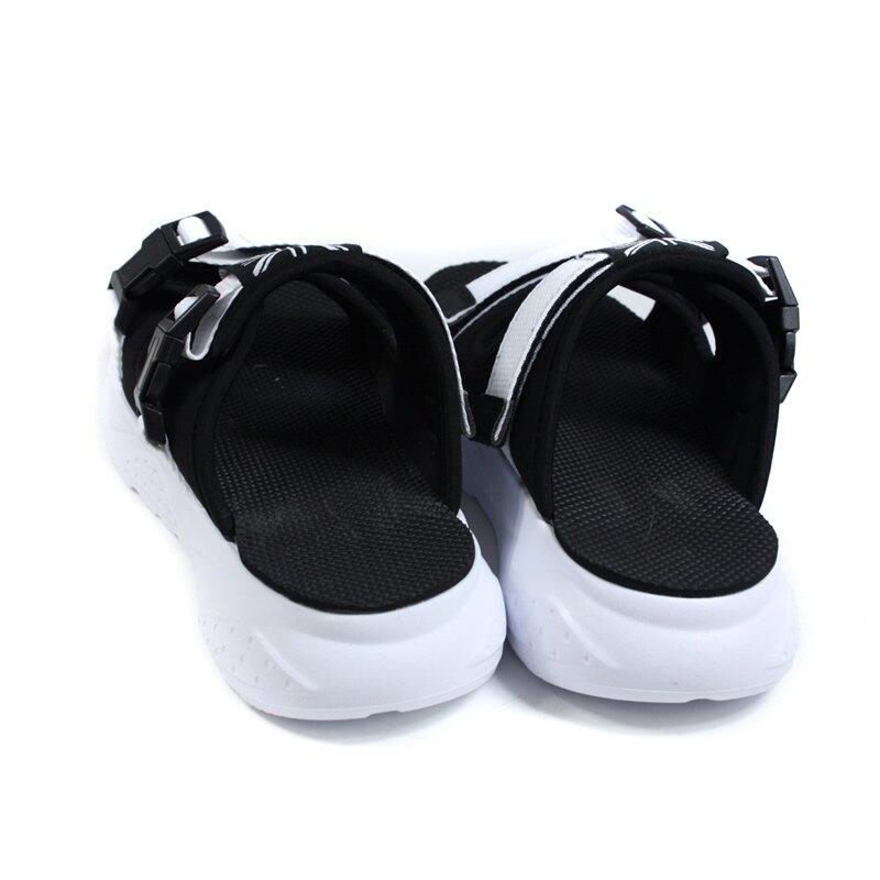 KANGOL 拖鞋 戶外 男鞋 黑色 厚底 6055220123 no145