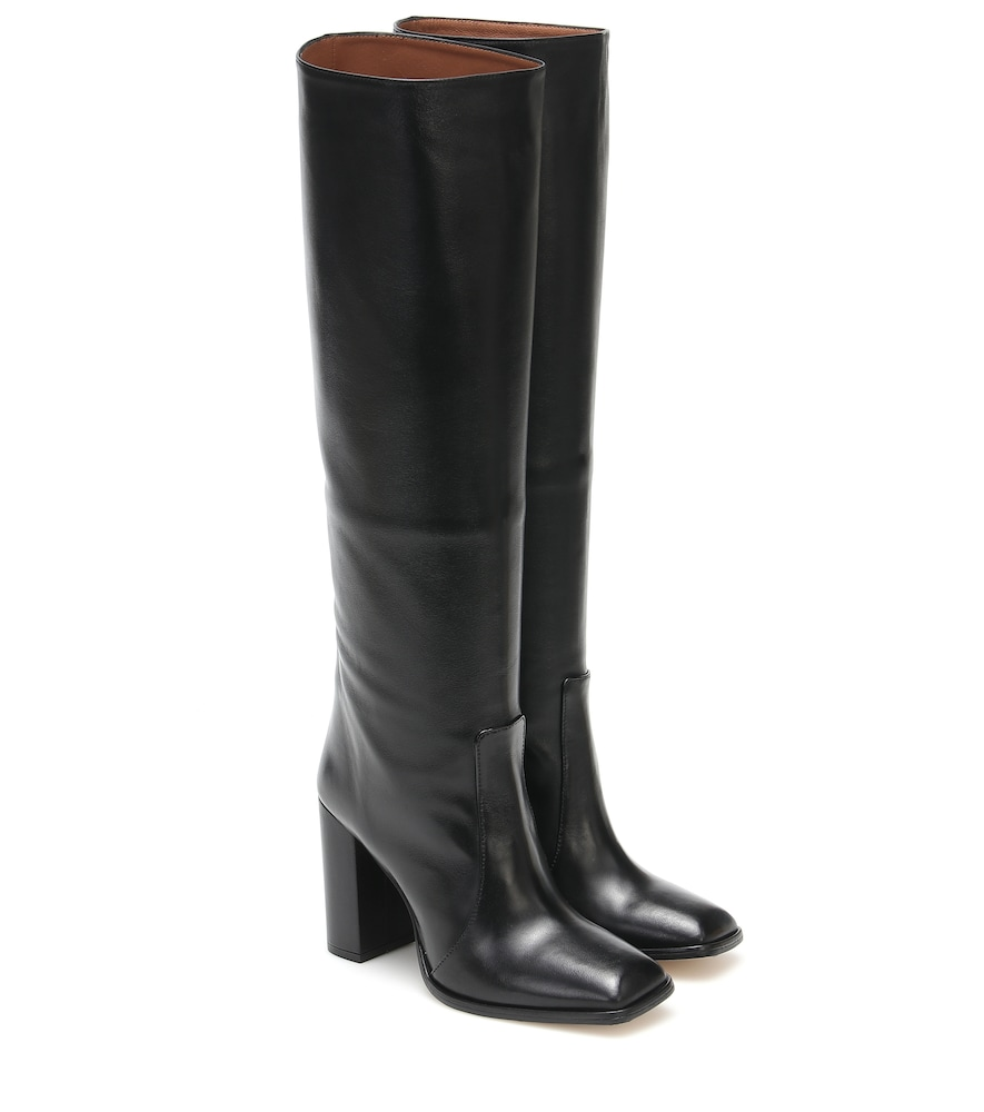 Exclusive to Mytheresa - Leather knee-high boots